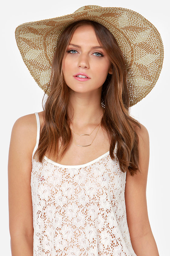 Billabong Sunbeat Summerz Beige Straw Hat - $28