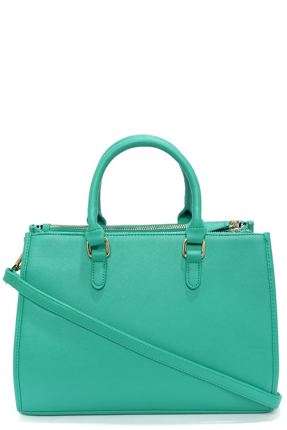 Brights Out Teal Handbag - $43